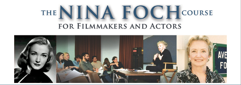 The Nina Foch Online Course for Filmmakers and Actors