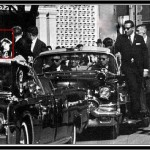 Image depicting a man who resembles Oswald at floor level of the Schoolbook Depository moments before the shooting began.